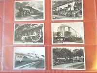 1938 BRITISH RAILWAYS trains train Tobacco Card comp. Set 48 cards lot vintage