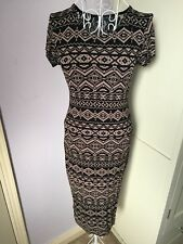 Women's Longline Bodycon Dress. By Glamour Babe. Size 8/10.