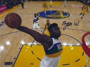 Zion Williamson New Orleans Pelicans Autographed Signed 8.5x11 Photo COA