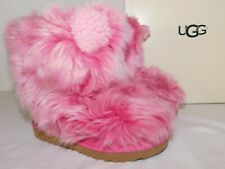 NEW IN BOX GIRLS TODDLER 8 PINK AZALEA UGG PINKIPUFF CLASSIC II SHEEPSKIN BOOTS