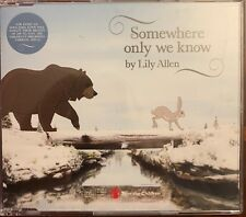 Lily Allen - Somewhere Only We Know (CD Single) *rare* John Lewis Advert 2013