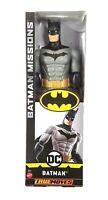 "Batman Action Figure 12"" Mattel 2018 Batman Missions True Moves"