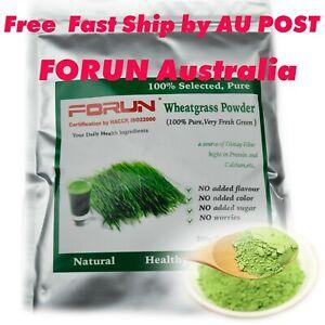 FORUN Pure Fresh Green Wheat Grass Powder 1KG -100% Pure, TOP Grade