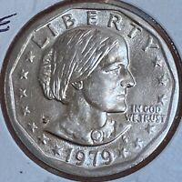 1979 P Susan B Anthony One Dollar $1 BU UNC High Grade NEAR DATE WIDE RIM #25113