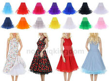 Femme Court Jupes Jupons Petticoat Tutu Dress Prom Skirt Wedding Underskirts