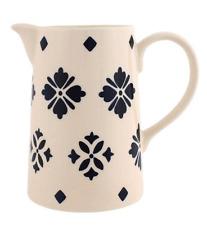 Blue and White Moroccan Design Ceramic One Pint / 500ml Jug - BNWT