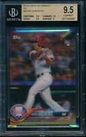 2018 Topps On Demand 3D Rhys Hoskins RC BGS 9.5 Gem Mint SP Rookie Card #64 /269