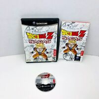 Dragon Ball Z Sagas Nintendo GameCube Video Game Complete With Manual