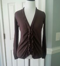 "Women's brown sweater/cardigan ""Ann Taylor Loft"" size small (S) career, casual"