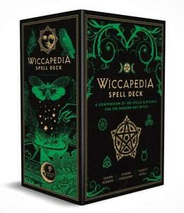 The Wiccapedia Spell Deck: A Compendium of 100 Spells and Rituals...
