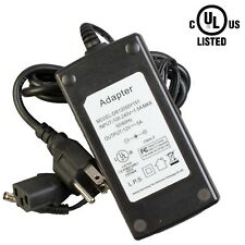 UL LISTED 12V 5A 60W power supply LED Light driver AC adapter Class 2