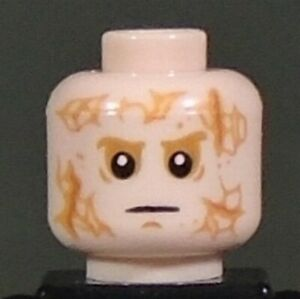 new LEGO Star Wars Minifig Head for Anakin Skywalker and Darth Vader