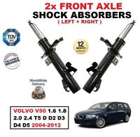 FRONT SHOCK ABSORBERS for VOLVO V50 MW 1.6 1.8 2.0 2.4 T5 D D3 D4 D5 2004-2012