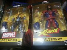 Lot of 2 Hasbro Marvel Legends Marvel?s Maverick & Warpath Action Figures NEW?