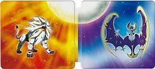 Pokemon Sun and Moon 3ds Limited Edition Steel book - STEEL BOOK ONLY -