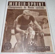 MIROIR SPRINT N°428 1954 CYCLISME BOBET CHAMPION DU MONDE KUBLER FOOTBALL LOSC