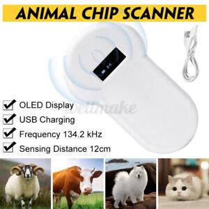 134.2Khz Tragbar USB Hund Microchip Scanner Iso Fdx-B Haustier Id Reader Hand