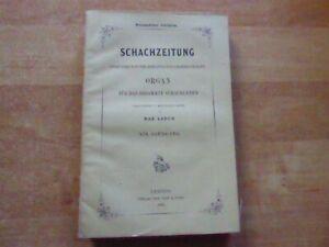 19. Jahrgang Deutsche Schachzeitung 1864