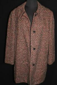 VERY RARE PENDLETON WOMAN'S 3/4 VINTAGE SPECKLED 1960'S WOOL SIZE  LARGE