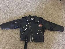 Childrens Harley Davidson Leather Jacket