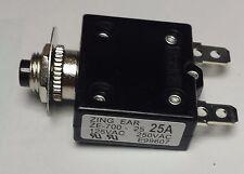 ZE700-25A Zing Ear thermal circuit breaker replaces Carling, Joemex, Kuoyeh, P&B