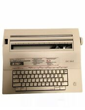 Smith Corona Portable Electric Typewriter 240 Dle With Cover Tested Works