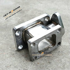 T3 to T4 Turbo Manifold Conversion Adapter with 38mm Wastegate Flange Outlet