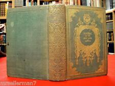 1849 HOLY LAND Palestine ANTIQUE BOOK Rare FOLD OUT MAP Bible 1ST ED Vtg HC Gift