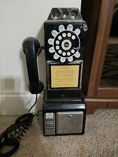 1950's Old Fashioned Look Dial Pay Phone Vintage Booth Style
