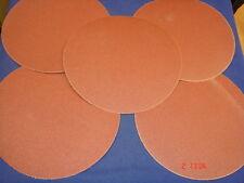 "5 x 230 mm Velcro Dischi Abrasivi 100g per DISCO & Cintura Levigatrice 4 ""X 9"" DRAPER NUTOOL"