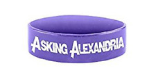 ASKING ALEXANDRIA purple wristband