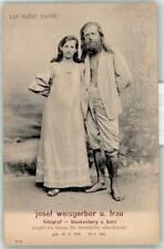 53196349 - Weisgerber, Josef und Frau Tracht