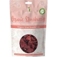 Dr Superfoods Dried Strawberries Organic 125g Muesli & Dried Fruits