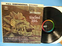 Les Baxter The Sacred Idol 1960 Stereo Record Exotica  Capitol ST 1293