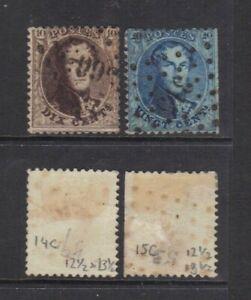 Belgium 1863 King Leopold I.Sc.14-5C?.