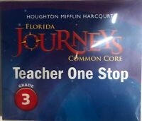 Journeys Grade 3 Teacher One Stop DVD Common Core Florida Edition 3rd Software