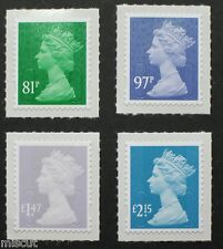 2014 DE LA RUE - M14L -  81p 97p £1.47 £2.15 Set of 4 values DLR