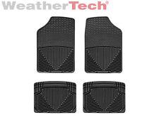 WeatherTech All-Weather Floor Mats for Nissan Sentra - 1982-2006 - Black
