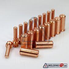 20pcs Electrodes+nozzles/tips 1403 1395 /L FOR cebora CP-70 plasma cutting torch