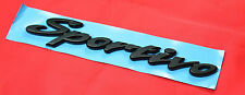 "TOYOTA CAMRY SPORTIVO BADGE BOOT EMBLEM ""SPORTIVO"" BLACK 2002-2004 NEW GENUINE"