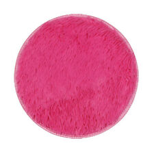 40*40CM Thickened Circular Carpet Mats Dining Room Bedroom Carpet Floor Mat
