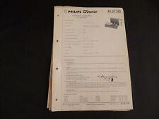 Original Service Manual Philips 22 GF 328