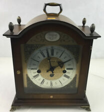 Bulova Tempus Frigile Wood Mantel Clock Lot 2388