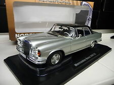 1:18 NOREV MERCEDES 280SE Coupe W111 silver / black  NEU NEW