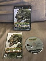 Jurassic: The Hunted (Sony PlayStation 2, 2009) CIB