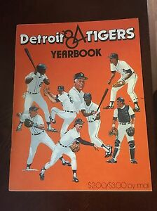1984 DETROIT TIGERS WORLD CHAMPIONS AUTOGRAPHED YEARBOOK