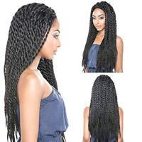 Perruques de tresse de dentelle tressée synthétique Wigs africaine pour les femm