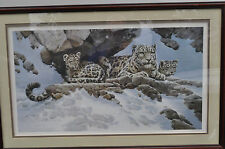 LARGE FRAMED NUMBERED AND SIGNED PRINT BY GUY COHELEACH (DEN MOTHER)