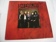 BAD ENGLISH - BAD ENGLISH - LP VINYL 1989 U.S.A. PRESS - EXCELLENT