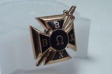 Beta Omega Chi Fraternity Pin 10K Gold